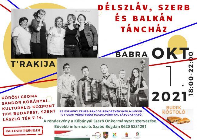 Délszláv szerb és balkáni táncház október 1-jén