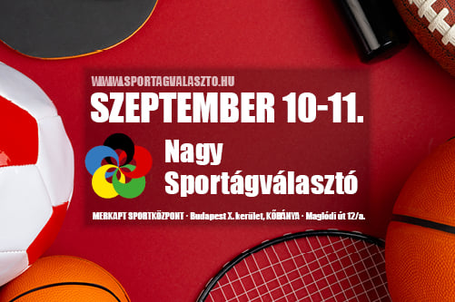 Két év után ismét itt a Budapesti Nagy Sportágválasztó