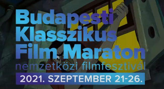 Programajánló – Budapesti Klasszikus Filmmaraton – 2021. Szeptember 21 – 26.